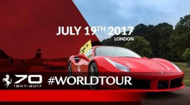 Ferrari fête ses 70 ans à Londres