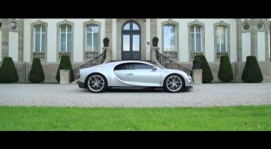 Essai de la Bugatti Chiron par Auto-Moto Magazine