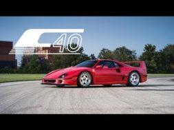 Ferrari F40, la machine à rêves