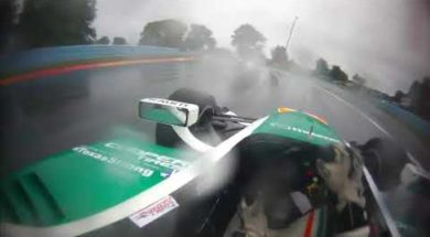 Indycar : Kyle Kaiser dans l'enfer de la pluie à Watkins Glen