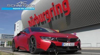 La BMW i8 la plus rapide du Ring par AC Schnitzer