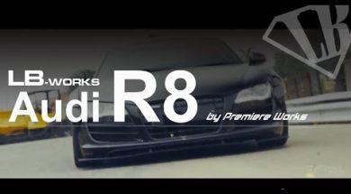 Liberty Walk délivre l'Audi R8…