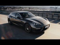 La Porsche Panamera Sport Turismo prend sa place dans le trafic