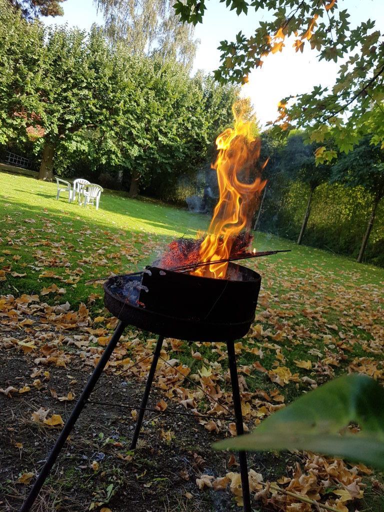Ce devait être le dernier barbecue de l'année...