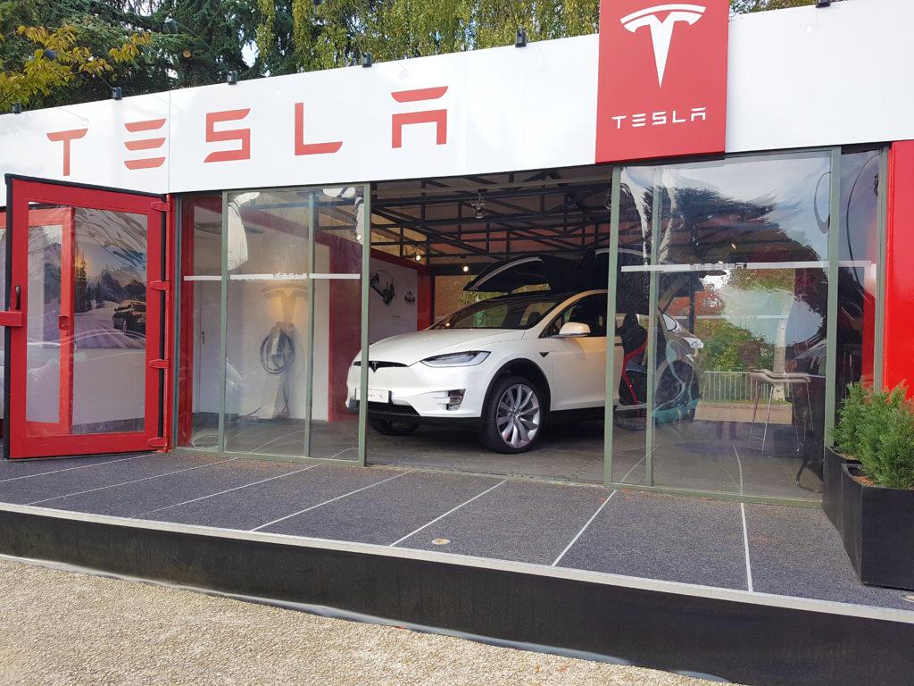 Tesla nous invite à un essai éphémère à Marcq-en-Baroeul.