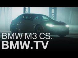 BMW présente sa M3 CS