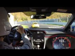 Honda Civic Type R au Nürburgring avec l'Argus