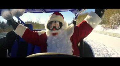 Le père Noël prépare sa tournée sur le Nürburgring