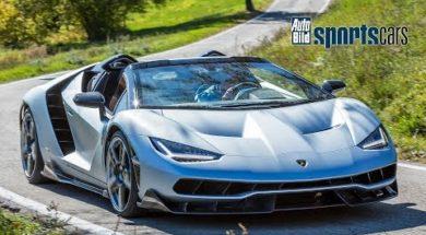 Petite musique du lundi, Lamborghini Centenario Roadster