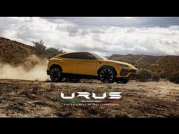 Le Lamborghini URUS, le super SUV qui rime avec super plus
