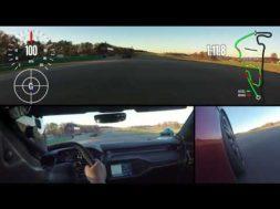 Caméra embarquée en Ford GT sur circuit