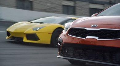 Guide d'achat 2018, une Kia Fort ou bien une Lamborghini Aventador
