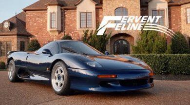 Jaguar XJR-15, la plus rare et racée des supercars des années 1990