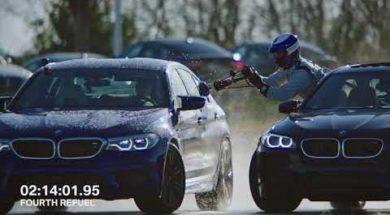 Le plein svp, 8 heures de drift et un record pour la BMW M5
