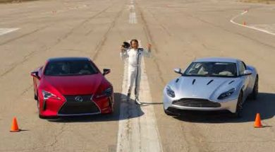 Modernisme face à tradition, Lexus LC 500 contre Aston Martin DB11 V12