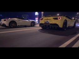 Quand 2 Ferrari 488 GTB se rencontrent