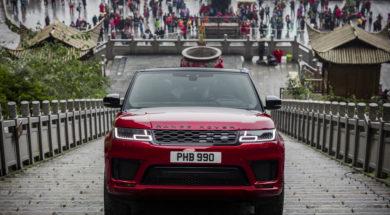 Range Rover Sport, le défi  extrême du Mont Tianmen