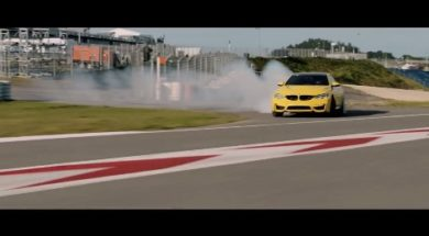 La BMW M4 CS affronte le Ring