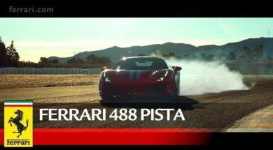 La Ferrari 488 Pista, héritière de la compétition