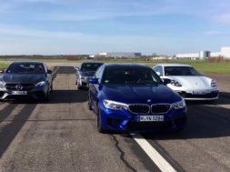 300 kmh à l'aise pour BMW M5, AMG E 63 S, Porsche Panamera Turbo S et Cadillac CTS-V