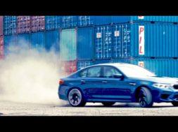 La BMW M5 débridée dans les rues de Taipei