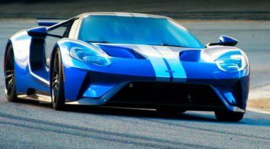 La Ford GT à Laguna Seca avec Top Gear