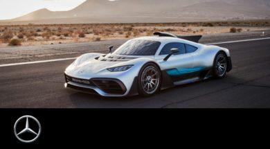 La Mercedes-AMG Project ONE dans le désert californien