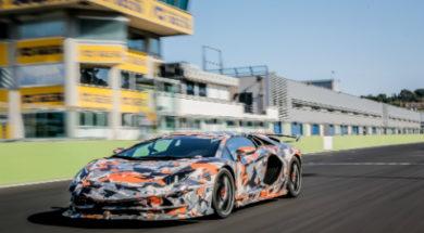 Lamborghini Aventador SVJ nurburgring