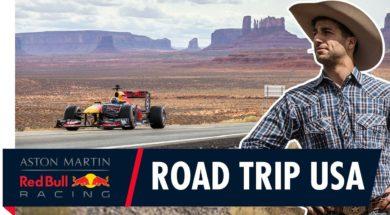 Le road trip américain de Daniel Ricciardo
