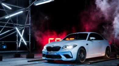 La BMW M2 Competition championne du tir laser