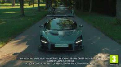 La McLaren Senna célèbre le lancement de Forza Horizon 4