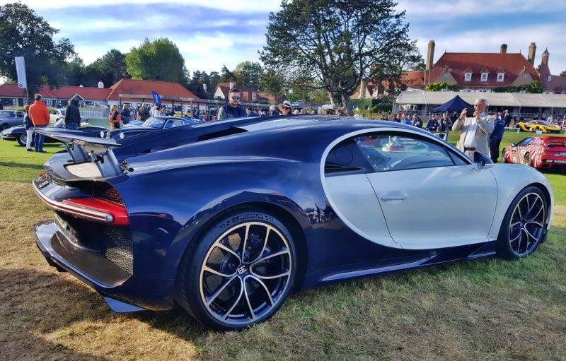 Bugatti Chiron au Zoute Grand Prix 2018