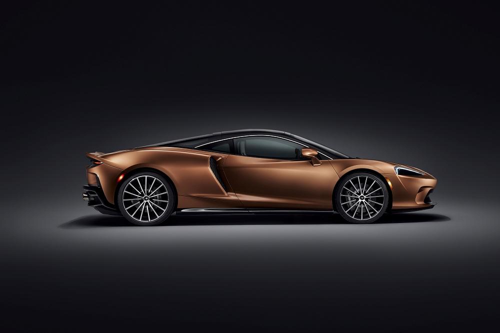 Nouvelle McLaren GT, des lignes galbées sans chichi
