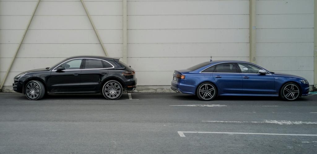 Dos à dos, V6 diesel et V8 essence