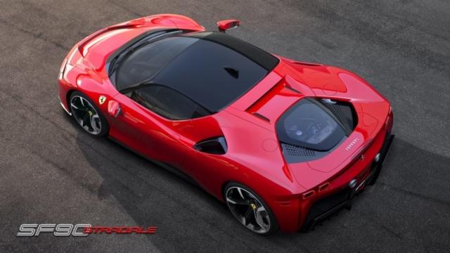 1000 chevaux, hybride et 4 roues motrices. C'est une Ferrari moderne.
