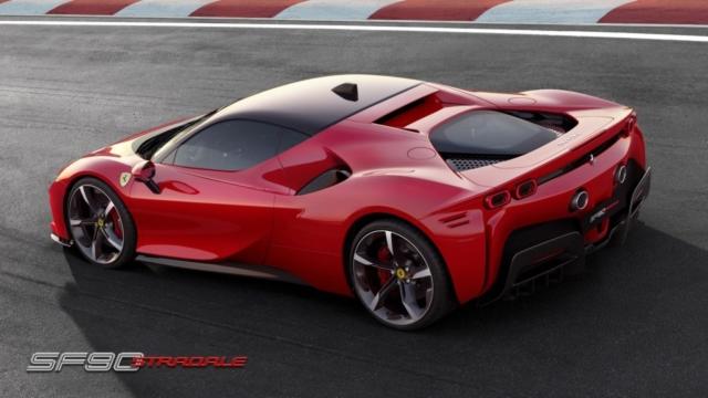 SF90 Stradale, Ferrari électrise les supercars