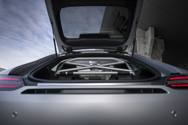 Mercedes AMG GT R PRO, arceau pour plus de rigidité