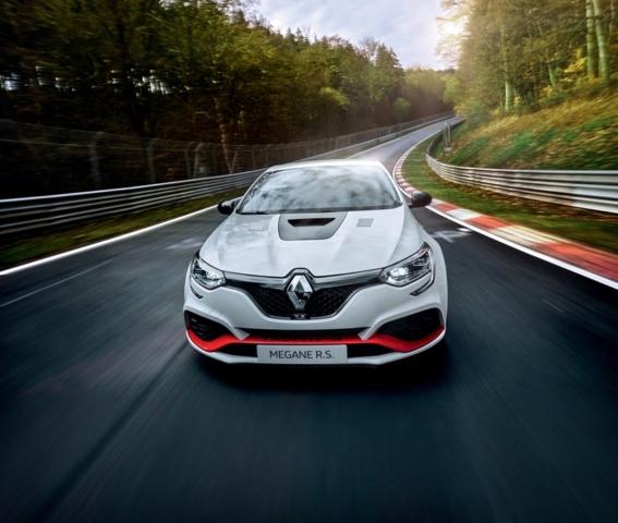 2019 - Renault MÉGANE R.S. TROPHY-R : record au Nürburgring