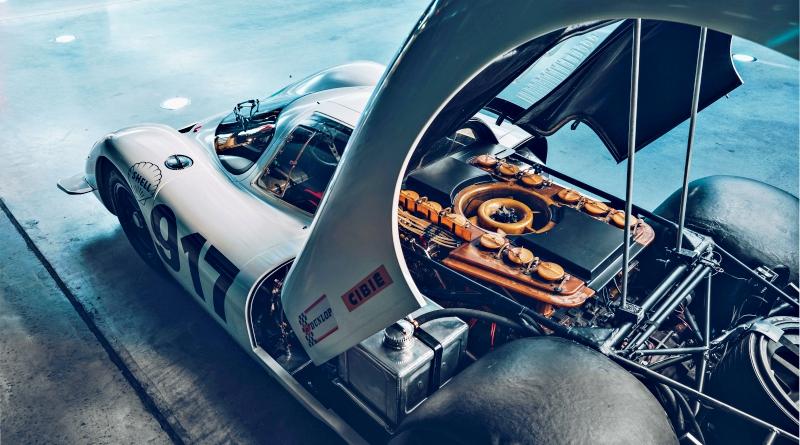 Porsche 917 et Concorde, le flat 12, coeur de la bête