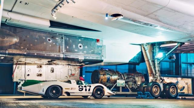 Porsche 917 et Concorde, 580 chevaux ou 160 000...