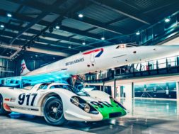 Porsche 917 – Concorde, la rencontre de 2 mythes