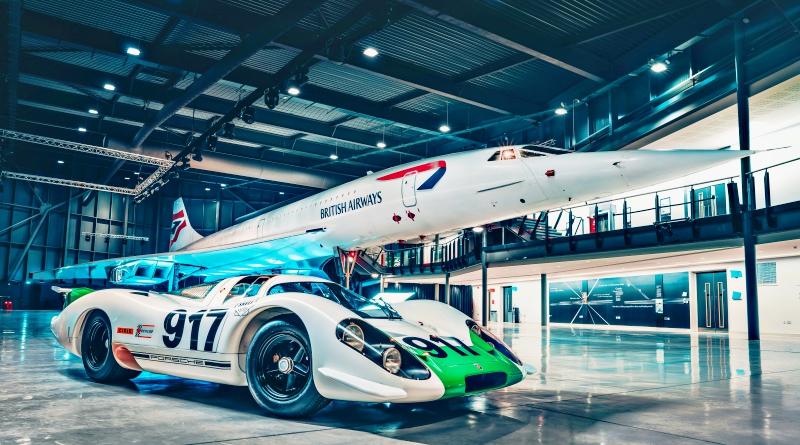 Porsche 917 - Concorde, la rencontre de 2 mythes