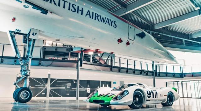 Porsche 917 et Concorde, pas de mot...