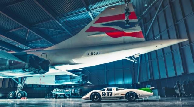 Porsche 917 et Concorde, tout en finesse aérodynamique