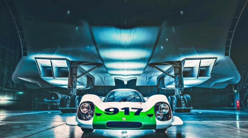 Porsche 917 et Concorde, sublime rencontre