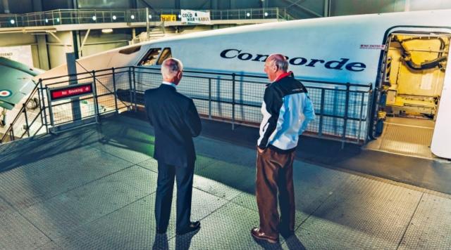 Porsche 917 et Concorde, Tim Orchald et Richard Attwood