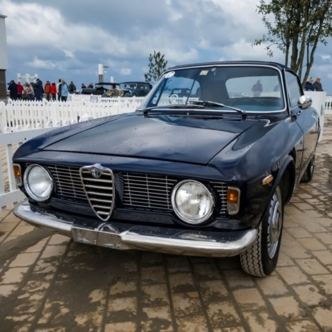 Alfa Romeo Giulia GTC, concours d'élégance