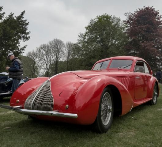 Alfa Romeo 8C 2900A de 1936 par Pinin Farina - Belles autos, bons amis et bonne musique le 1er mai à Cassel