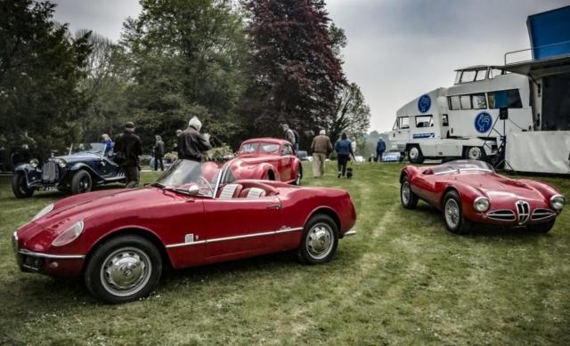 Alfa Romeo Galerie des Damiers - Cassel, le 1er mai : rendez-vous amoureux