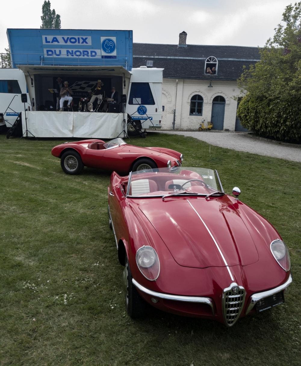 Alfa Romeo, La Voix du Nord Disco Volante - Belles autos, bons amis et bonne musique le 1er mai à Cassel